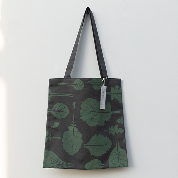 쌈잎 패턴 가방 Ssam Leaf Pattern Bag