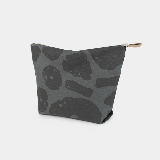 제주돌 패턴 파우치 Stone in Jeju Pattern Pouch
